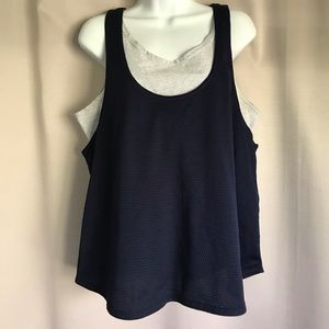 Fitness Workout Extra Large Racerback Tank Top